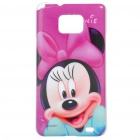 Minnie Mouse Pattern Protective PC Back Case for Samsung i9100