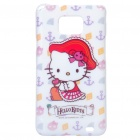 Hello Kitty Pattern Protective PC Back Case for Samsung i9100