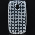 Protective TPU Back Case for Samsung i9250 / i515 - Transparent White