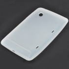 Protective Silicone Back Case for HTC Flyer - White