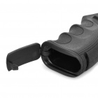 Ergonomic Combat Sniper Pistol Grip w/ Bottom Compartment - Black (21mm Caliber)