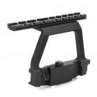 74U Aluminum Alloy Scope Mount Base for AK47 - Black