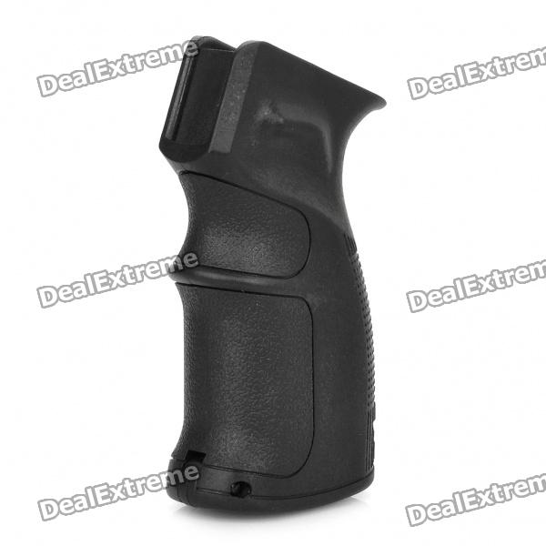 M4 Ergonomic Combat Sniper Pistol Grip w / Bottom Compartiment - Black (11mm Caliber)