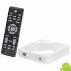 Jesurun J02 1080P Full HD Android 2.3 Network Media Player w / Dual USB / SD / HDMI / LAN