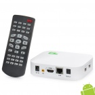 A9 1080P Full HD Android 2.2 Network Media Player w / Dual USB / SD / LAN / HDMI / AV / Optical