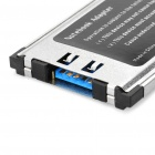 Adaptador USB 3.0 Express Card para Notebook Laptop (Max. 5 Gbps)