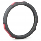 Genuine Cow Leather Car Steering Wheel Column Sleeve (Diameter: 38cm)