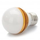 E27 2.8W 3-LED 280LM 3000-3500K Warm White LED Light Bulbs (85-260V)