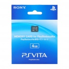 Genuine Sony Memory Card for PS Vita (4GB)