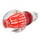 E27 2.8W 625nm 210-Lumen 3-LED Red Light Bulb (85~260V)