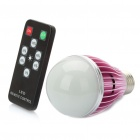 E27 5.8W 6500K 560-Lumen 6-LED White Light Bulb with Remote Controller (85~260V)