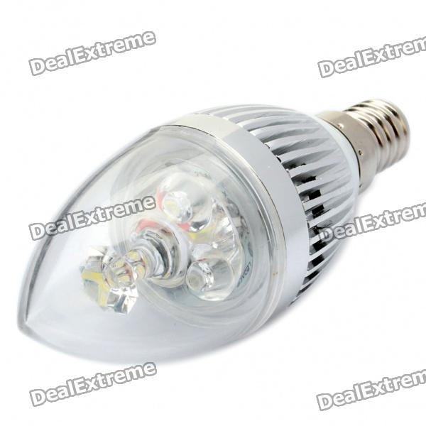 E14 2.8W 6500K 280-Lumen 3-LED White Light Bulb (85~260V) от DX.com INT