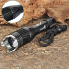 TR-J1 Cree XM-L T6 900LM 4-Mode White LED Diving Flashlight w/ Strap (1 x 18650)