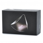 LITO USB Powered Triangle Style Resonance Speaker - Black + Silver