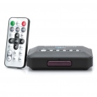 Television Multi-Media Player Box w / USB / SD / AV / YPrPb - Black