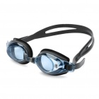 Genuine LIPHS Silicone Strap PC Lens Swimming Goggle Glasses w/ Earbuds / Nose Bridges
