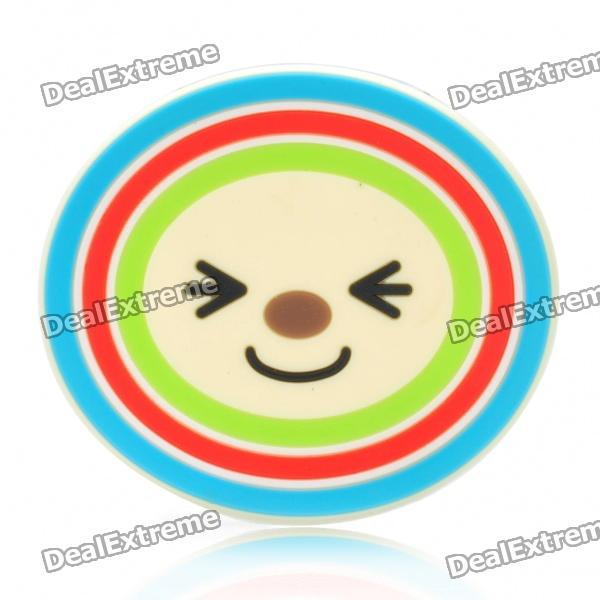 Open Chan Style Round Shape Silicone Cup Mat Pad