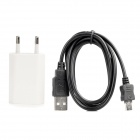 USB Data/Power Cable + Charging Adapter for Samsung Galaxy Note i9220 / GT-N7000 / Galaxy R i9103