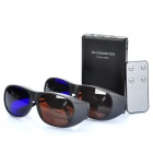 2D to 3D HD Video Converter w/ 3D Glasses & Remote Controller - Black