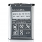 Designer's Replacement 900mAh Battery for Sony Ericsson W800 / K750I / W810 + More - White + Black