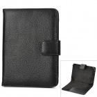 Protective PU Leather Case for Kindle Touch - Black