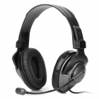 IP-M635V Stereo Earphone Headset with Microphone - Black (290CM-Cable)