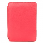 Protective PU Leather Case for Kindle 4 - Red