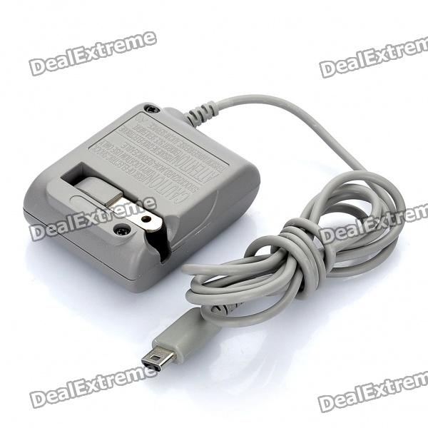 AC Charger/Power Adapter for Nintendo DS Lite -Grey (100~240V/US Plug)