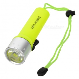 IPX8 6500K 100LM IPX8 1-LED Diving Flashlight (4 x AA)