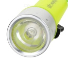 IPX8 Cree XR-E 6500K 100LM IPX8 1-LED Diving Flashlight (4 x AA)
