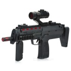 Submachine Gun Toy with Infrared Light / Vibration / Colorful Lights / Sound Effect (3 x AA)