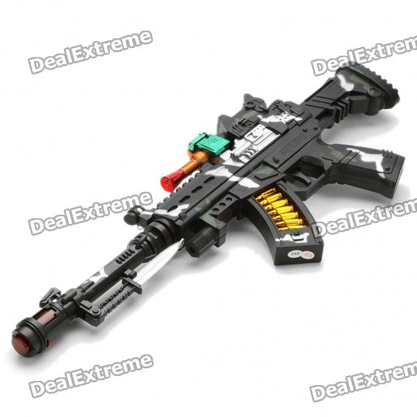 Cool Toy Shotguns : Buy cool machine gun toy with red laser vibration