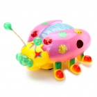 Cute Beetle Style Toy with Music & Colorful Lights (3 x AA)