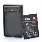 BL-4D Replacement 3.7V 2300mAh Battery Pack with Battery Charger for Nokia N97 Mini / E5 / E8 / E7