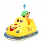 Nette Bumper Car Toy w / Musik / Sound Effect (3 x AAA)