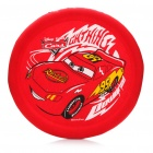 "Cars Pattern 12"" Fabric Frisbee (Red)"