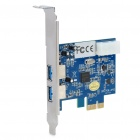 Desktop Computer 2-Port USB 3.0 Super Speed PCI-E Expansion Card