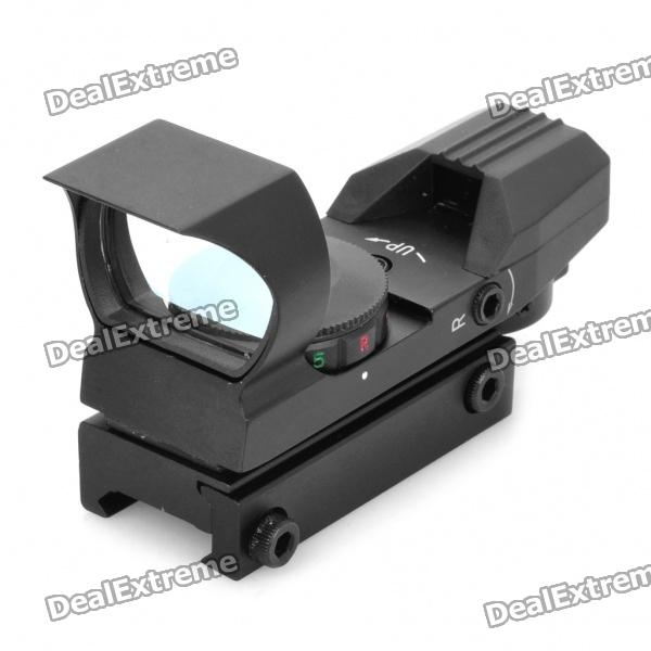 CXHD106 1X 33mm Red/Green Dot Sight Rifle Scope with Wrench (1 x CR2032)