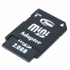 Transcend 2GB Mini-SD Memory Card with SD Card Adapter