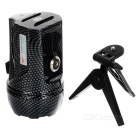 Rechargeable 3W 1-LED Blue Fishing Light + 0.6W 6-LED White Light 3-Mode Spotlight Searchlight