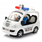 City Police Car Toy with Red/Blue Light & Sound Effect (3 x AA)