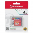 Transcend 133X 4GB Compact Flash CF Memory Card