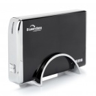 "USB 2.0 3.5"" SATA HDD External Case Enclosure with Stand - Black"