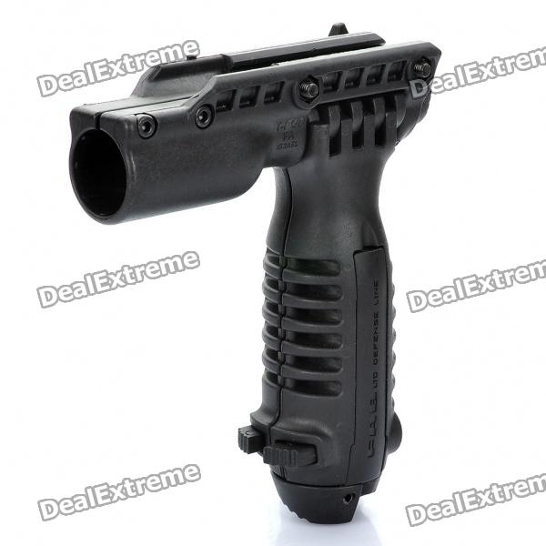 Foregrip Flashlight Holder with Bipod for Gun