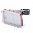 3-Mode 12-LED RGB Bicycle Safety Tail Light w/ Bike Mount (3 x AAA)