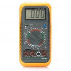 2.5&quot; LCD Digital Multimeter - Orange + Black (1 x 6F22/9V Battery)