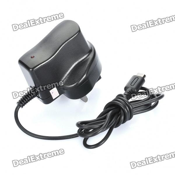 AC Charger/Power Adapter for NDSL - Grey (100~240V / UK Plug)