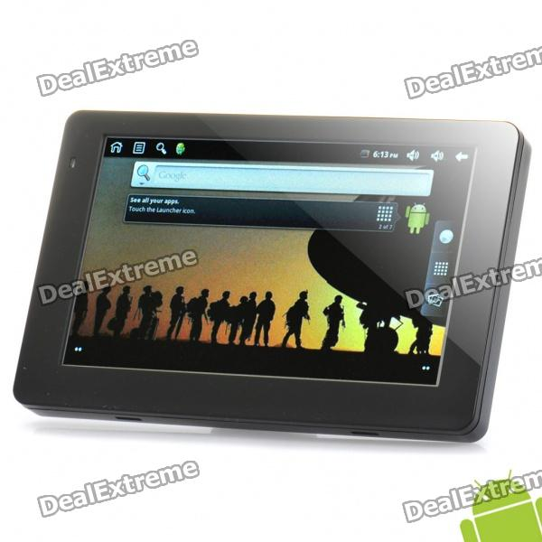 "5.0"" Touch Screen Android 2.2 Tablet PC w/ WiFi / TF / FM / OTG / AV-Out (660MHz / 8GB)"