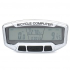 "Sunding 2.8"" LCD Electronic Bike Bicycle Speedometer - Black + Silver"