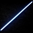 12V 75-LED vit ljus Strip (50cm)